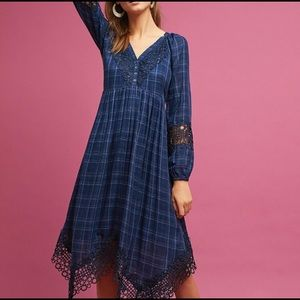 Anthropologie Akemi+Kin Plaid Dress